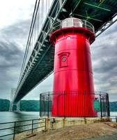 Little Red Lighthouse on the Hudson - NYC