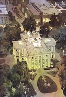 Raleigh Capitol Building- Watercolor Painting