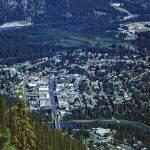 """Banff from Above"" by PriscillaTurner"