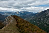 Abruzzo National Park from above