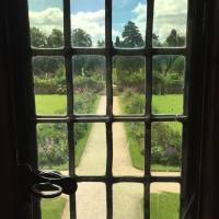 Through the Window at Hanbury Hall, England Art Prints & Posters by Carol Munro