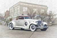 1930's Packard Twelve Roadster