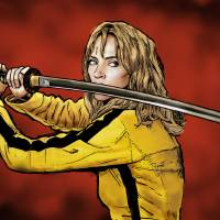 Tarantino: Kill Bill - The Bride Art Prints & Posters by Dan Avenell
