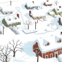 Blizzard Art Prints & Posters by John Rocco