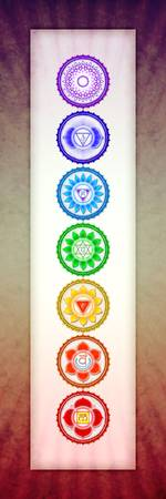 The Seven Chakras - Series 6 Artwork 1