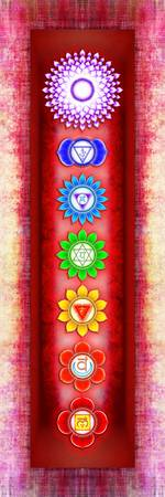 The Seven Chakras - Series 6 Artwork 3