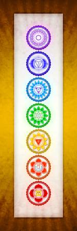 The Seven Chakras - Series 6 Golden Yellow
