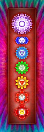 The Seven Chakras - Series 6 Artwork 2-1