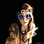 """""""Hippie Girl-1-4000"""" by davegafford"""