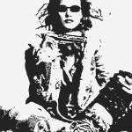 """Hippie Girl & Harmonica"" by davegafford"