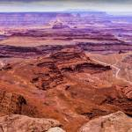 """Canyonlands sunset panorama"" by JohnChaoPhoto"