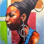"""""""Miss Simone"""" by Shawfineart"""