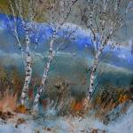 """aspen trees 6771"" by pol"