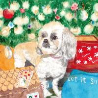 Maltipoo Art Prints & Posters by Yvonne Carter