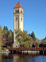Spokane Clock Tower November