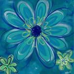 """Cool Blossoms"" by ckjonesart"