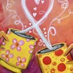 """Love Mugs"" by ckjonesart"