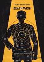 No740 My Death Wish minimal movie poster