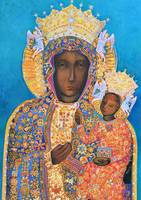 Black Madonna and Child Our Lady of Czestochowa