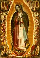 Our Lady of Guadalupe Virgin Mary Painting Mexico