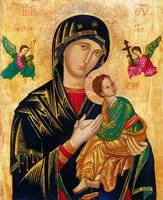 Our Lady of Perpetual Help Madonna and Child Icon