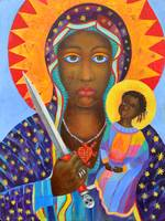 Black Madonna Erzulie Dantor Voodoo Virgin Mary