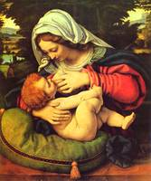 Madonna and Child Virgin Mary Painting Catholic
