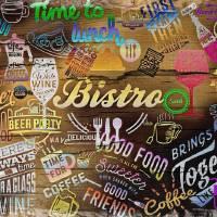 Bistro Sign-1 Art Prints & Posters by Nina Bradica