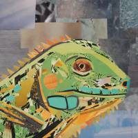 The Wise Lizard Art Prints & Posters by Megan Coyle