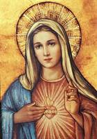 Immaculate Heart of Mary Our Lady Picture Painting