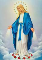 Immaculate Conception of Virgin Mary Catholic Art