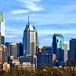 """Philadelphia Pa Skyline II"" by susansartgallery"