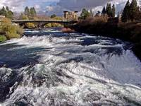 Spokane River Upper Falls