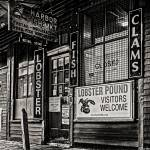 """Harbor Fish Mkt B&W"" by aknbean"