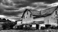 White Barn B&W