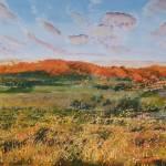 """""""orange hills"""" by Dennisartist"""