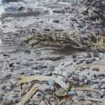 """""""mount ranier river"""" by Dennisartist"""