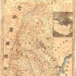 """Vintage Map of New Hampshire (1817)"" by Alleycatshirts"