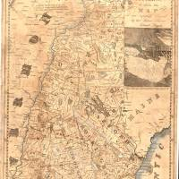 Vintage Map of New Hampshire (1817) Art Prints & Posters by Alleycatshirts @Zazzle