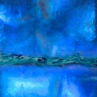 Into The Deep Blue Art Prints & Posters by Wayne Cantrell