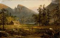 Pioneer's Home, Eagle Cliff, White Mountains, Jasp