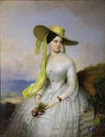 Portrait of a lady by Anton Einsle