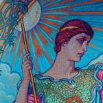 """""""mosaic.woman3"""" by RubinoFineArt"""