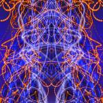 """Abstract Light Streaks #335 on 18 January 2017"" by nawfalnur"