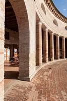 The ancient forum in Senigallia, Italy