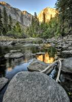 Day 16 - El Capitan Sunset from Merced River 2a
