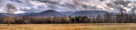 Entering Cades Cove Near Sunset - cropped