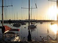 Sunset at the Yatching Club, Colonia del Sacrament