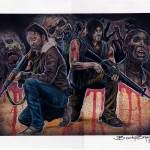 """Walking Dead"" by BrandyTatts"