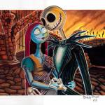 """Nightmare Before Xmas"" by BrandyTatts"